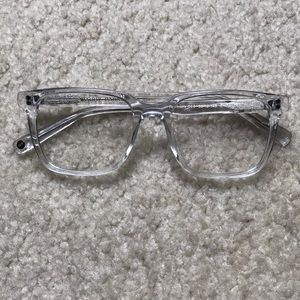 0f7aa6b969b6 Warby Parker Accessories - Warby Parker Chamberlain Crystal clear eyeglasses
